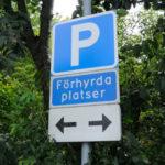 Parkeringsplatser